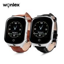 Wonlex 높은 품질 새로운 도착 gw1000s 3g gps 스마트 시계 a19 카메라 터치 스크린 및 건강 단계와 노인을위한 계산