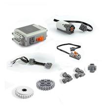 1 ensemble TECHNIC MOC groupe mécanique technologie série pièces de moteur fonction de puissance moteurs blocs de construction compatibles avec 8293
