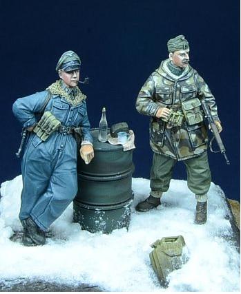 1/35 Risen Figuren Modell Kits Ungarn Soldat Winter 2 abbildung Unassambled Unlackiert