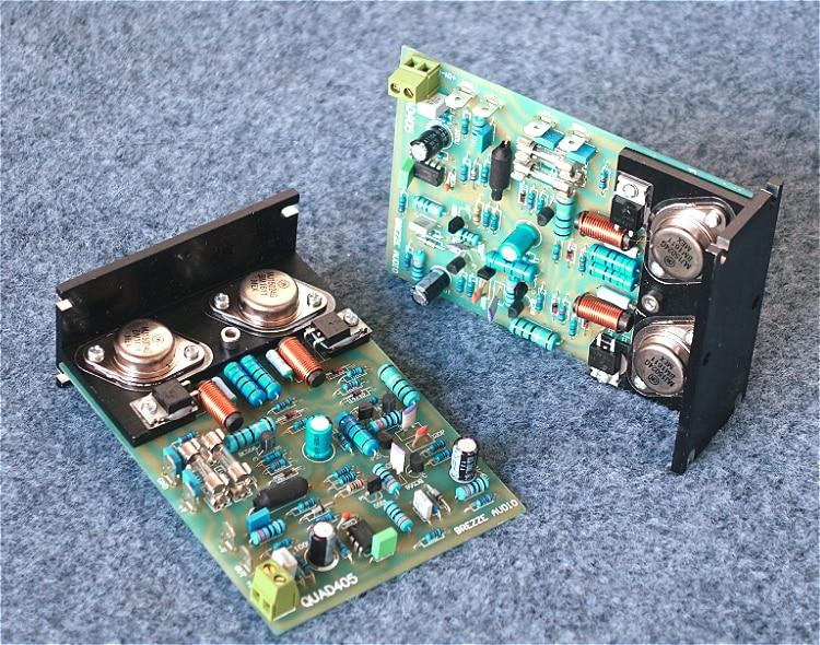 2 канала клонированная Quad 405 Классическая Плата усилителя мощности собранная и протестированная плата QUAD405