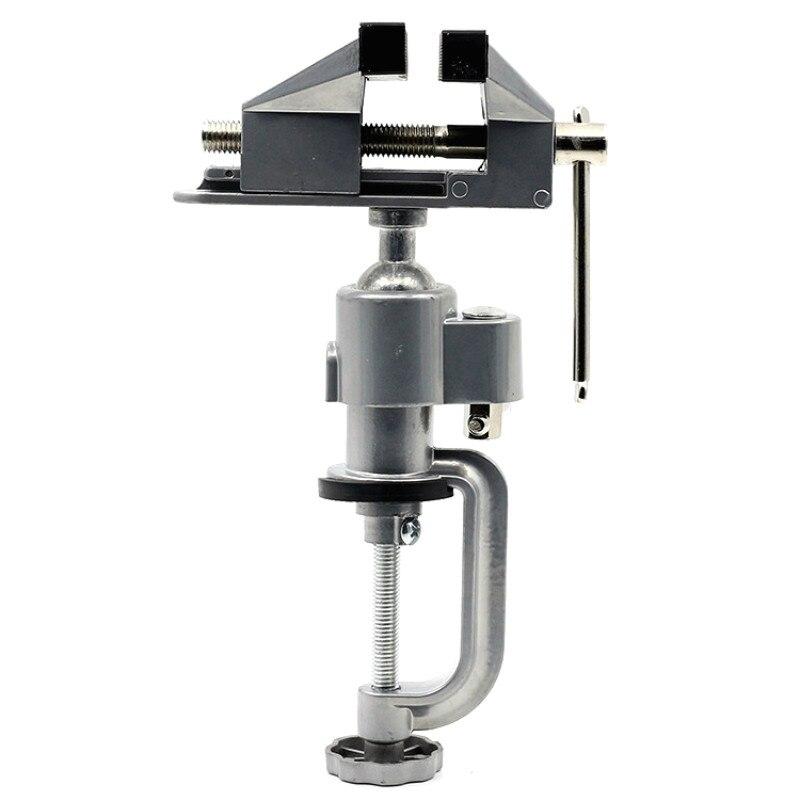 360 mesa giratoria prensa sargento de Banco prensas de titular taladro soporte para Rotary herramienta artesanía modelo edificio electrónica