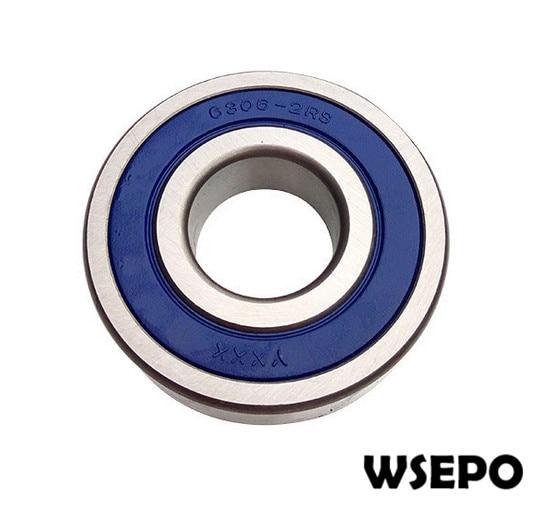 Qualidade DO OEM! virabrequim 6306 Rolamento para 170F/173F/L48 4HP ~ 5HP 4 Tempos Único Cilindro Refrigerado A Ar Do Motor Diesel