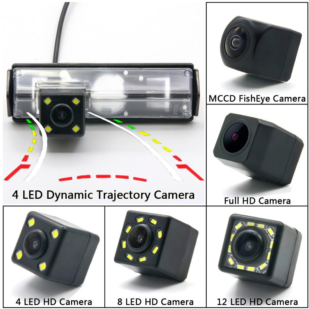 "Car CCD rear view camera LED for Mitsubishi Pajero Sport Grandis MPV Space Wagon Colt Plus 4.3"" 5"" Car Parking Monitor Wireless"