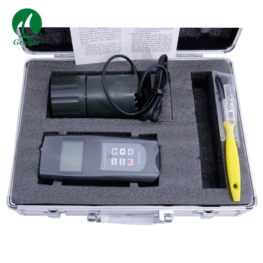 MC-7828G profesional tipo taza Medidor de humedad de cereal probador de humedad Digital puede medir 22 tipos de granos MC7828G