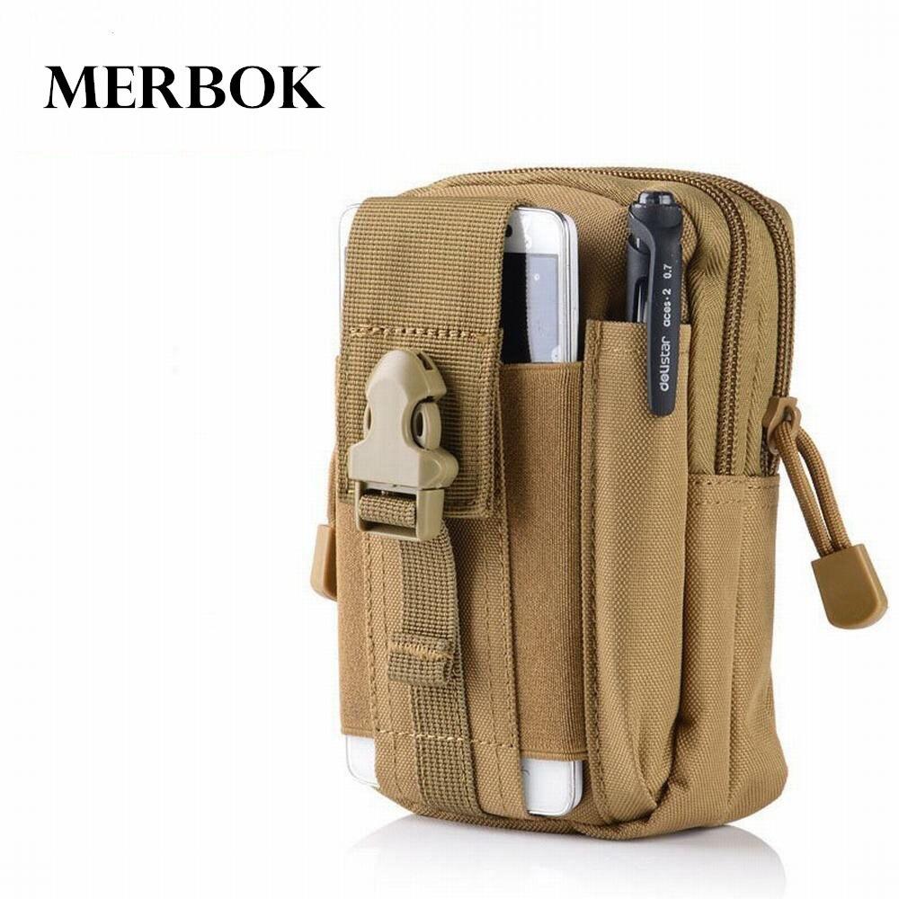 Outdoor Sport Pouch Molle Taille Pack Purse Mobiele Telefoon Bag Voor Blackview BV 9000 8000 7000 6000 5000 4000 Pro Flip Cover Case
