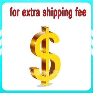 Additional Payment or Extra Fee for your Order as Discussed