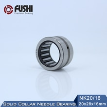 NK20/16 Bearing 20*28*16 mm ( 5 PC ) Solid Collar Needle Roller Bearings Without Inner Ring NK20/16 NK2016 644802 Bearing