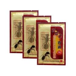 Пластыри для анальгетиков муравьиного яда, 8 шт., инфракрасные Пластыри для боли в суставах, шее, спине, теле, мышцах, бальзам для облегчения боли