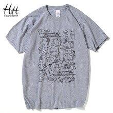 HanHent Physik T-shirts Männer Kreative Casual T-shirt Kurzarm T hemd Mathematik Baumwolle Tops Die Big Bang Theory Geek T shirts