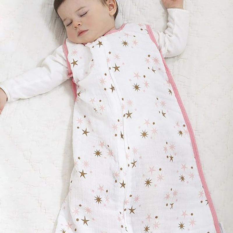 Новые Детские спальные мешки, 100% Муслин, хлопок, Aden Anais, тонкий спальный мешок для лета, постельные принадлежности, Детские спальные мешки, ...