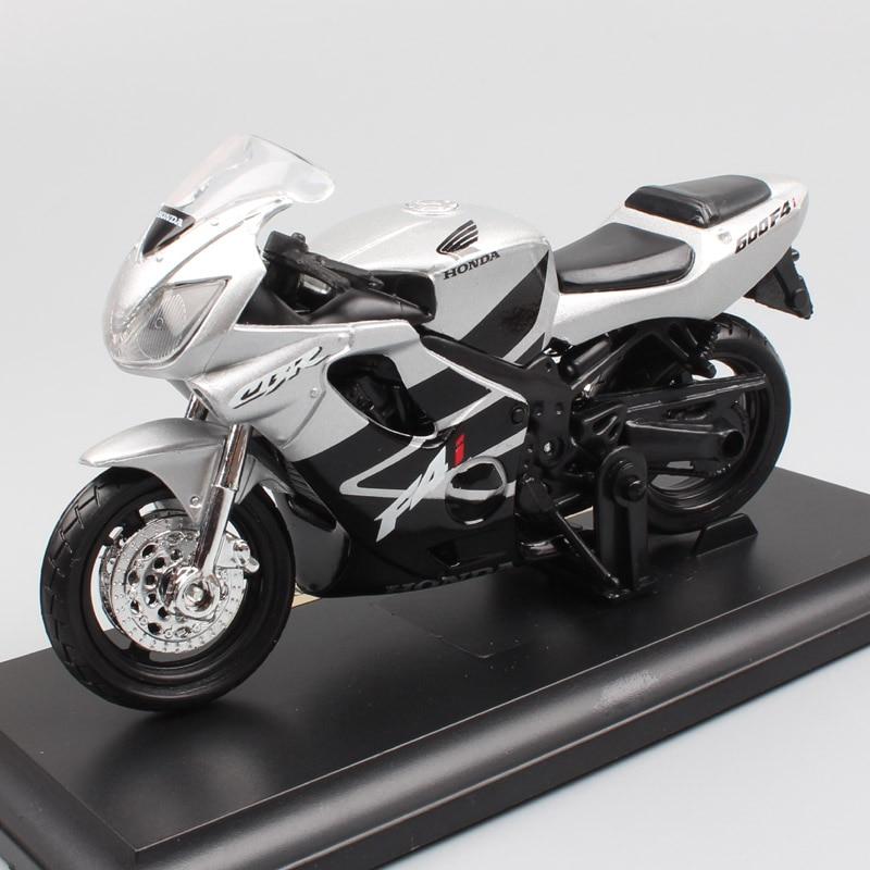 1:18 scale brands Maisto Honda CBR600F F4i Hurricane sport race moto bike diecast motorcycle car toy model miniatures of kid boy