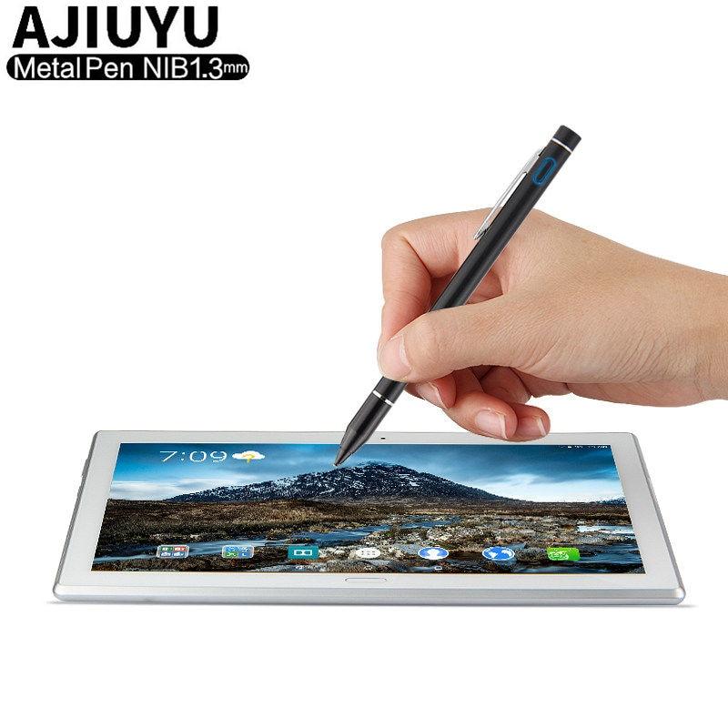 Pluma activa Stylus pantalla táctil capacitiva para Lenovo Tab 4 10 Plus tab4 8 8,0 10,1 X304L X30F X70F ThinkPad 8 10 Pen Tablet funda