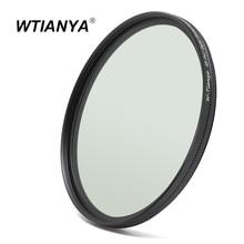 WTIANYA 40.5mm mince polariseur circulaire polarisant filtre CPL pour Sony 16-50mm (A6500 A6300 A6000 A5000 A5100 A3000)