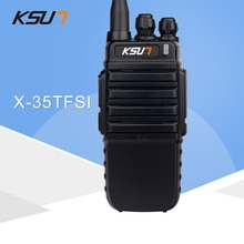 KSUN talkie-walkie X-35TFSI Streamer Version de Portable deux voies Radio 8W haute puissance UHF400-470MHZ sans fil jambon