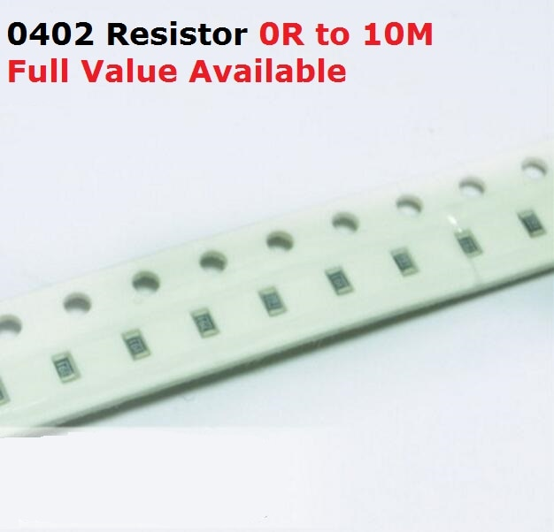 500 unids/lote Chip SMD resistencia 0402 1 M/1,1 M/1,2 M/1,3 M/1,5 M/Ohm resistencia de 5%, 1/1, 1/1, 2/1, 3/1, 5/M resistencias 1M1 1M2 1M3 1M5