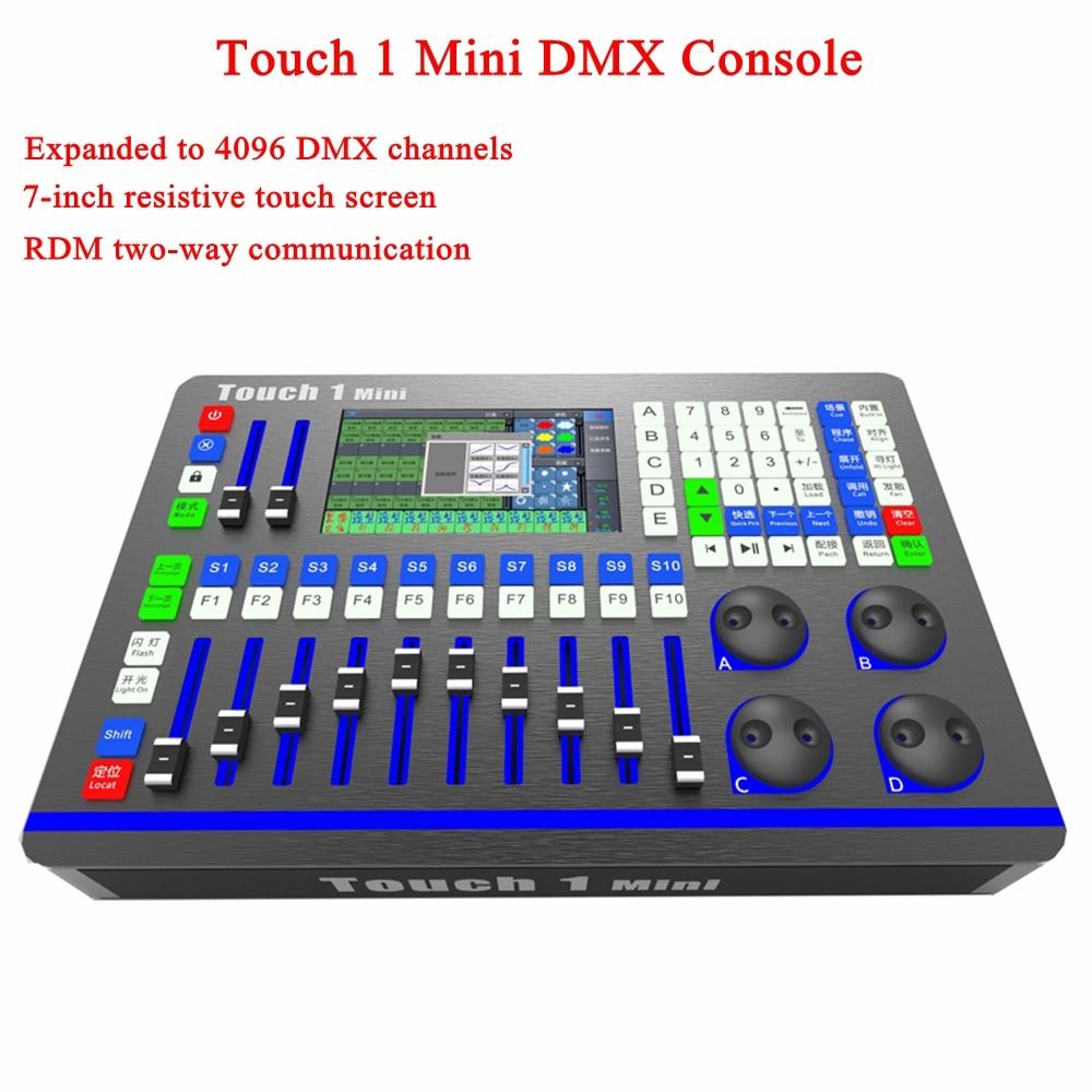 Сценическое освещение сенсорный 1 MX DMX контроллер диджей оборудование DMX512 консоль диско свет для LED Par движущаяся головка прожекторы DJ контр...