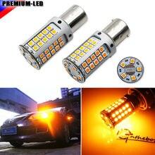 IJDM – ampoules LED pour clignotant avant ou arrière, 21W, ambre BAU15S 7507 PY21W 1156PY, CANBUS 12V, sans Hyper Flash