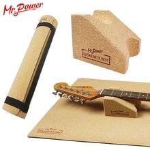 Mr. Power guitare cou repos soutien cou oreiller chaîne Instrument guitare tapis pour guitare nettoyage Luthier configuration outil réparation 8 Z