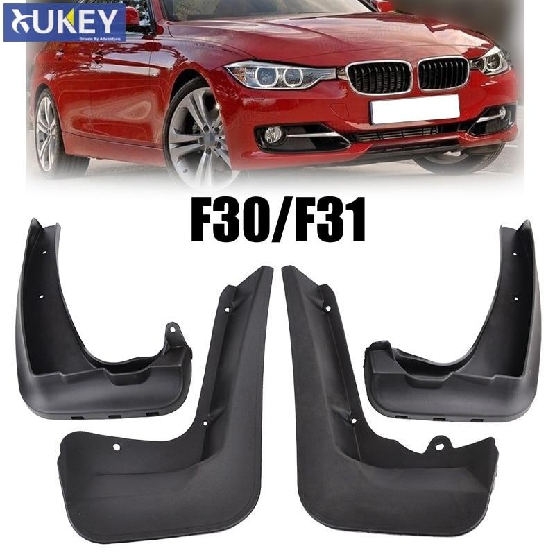 Guardabarros de BMW Serie 3 F30 F31 2012-2018, 2014, 2015, 2016 barro guardabarros guardia 316i 318 320i 328i 335i accesorios guardabarros