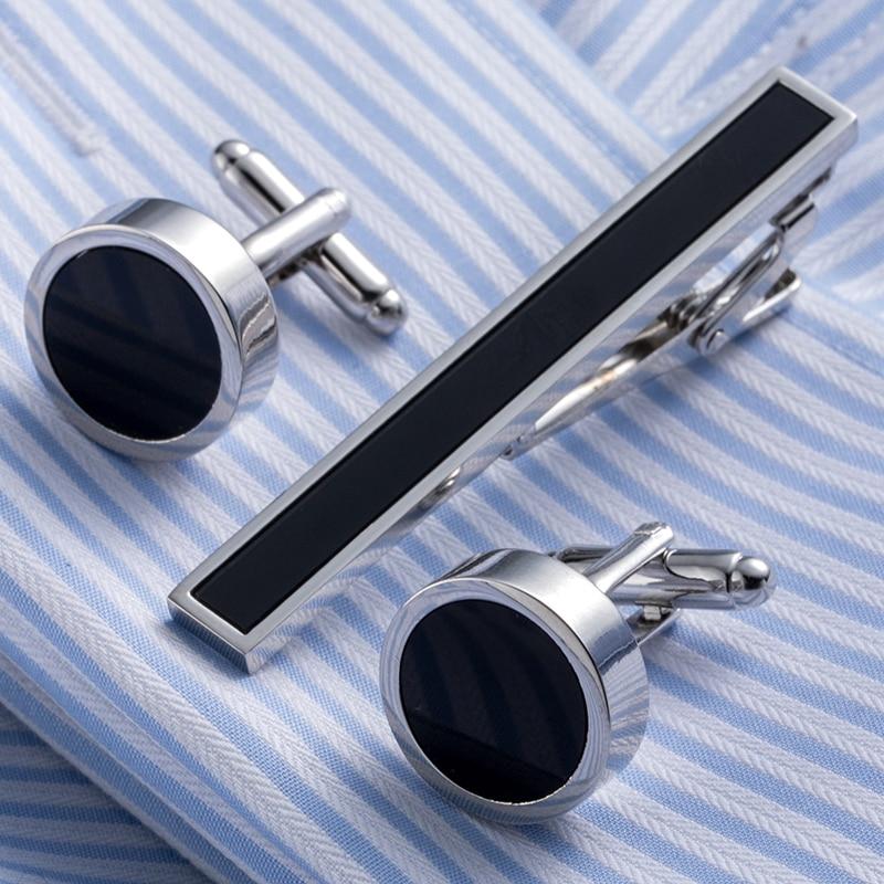 Envío Directo, conjunto de corbata de latón, barra de corbata, gemelos, Clip de corbata, gemelos de alta calidad, corbata, Pin, joyería para hombres 20