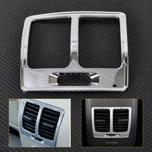 CITALL New Chrome Armrest Box Rear Air Vent Frame Trim Cover For Ford ESCAPE KUGA 2013 2014 2015