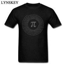 Pi Day Vortex Mathematical Men Tshirts 2017 New Brand Spain Sleeve Regular Pure Sputnik T Shirt For Men Male