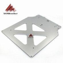 Ultimaker 2 + UM2 étendu 3D imprimante pièces Z Table en aluminium chauffé plaque chauffante prix de gros