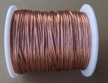 0.1x250 strands, 10m/pc, Litz wire, stranded enamelled copper wire / braided multi-strand wire