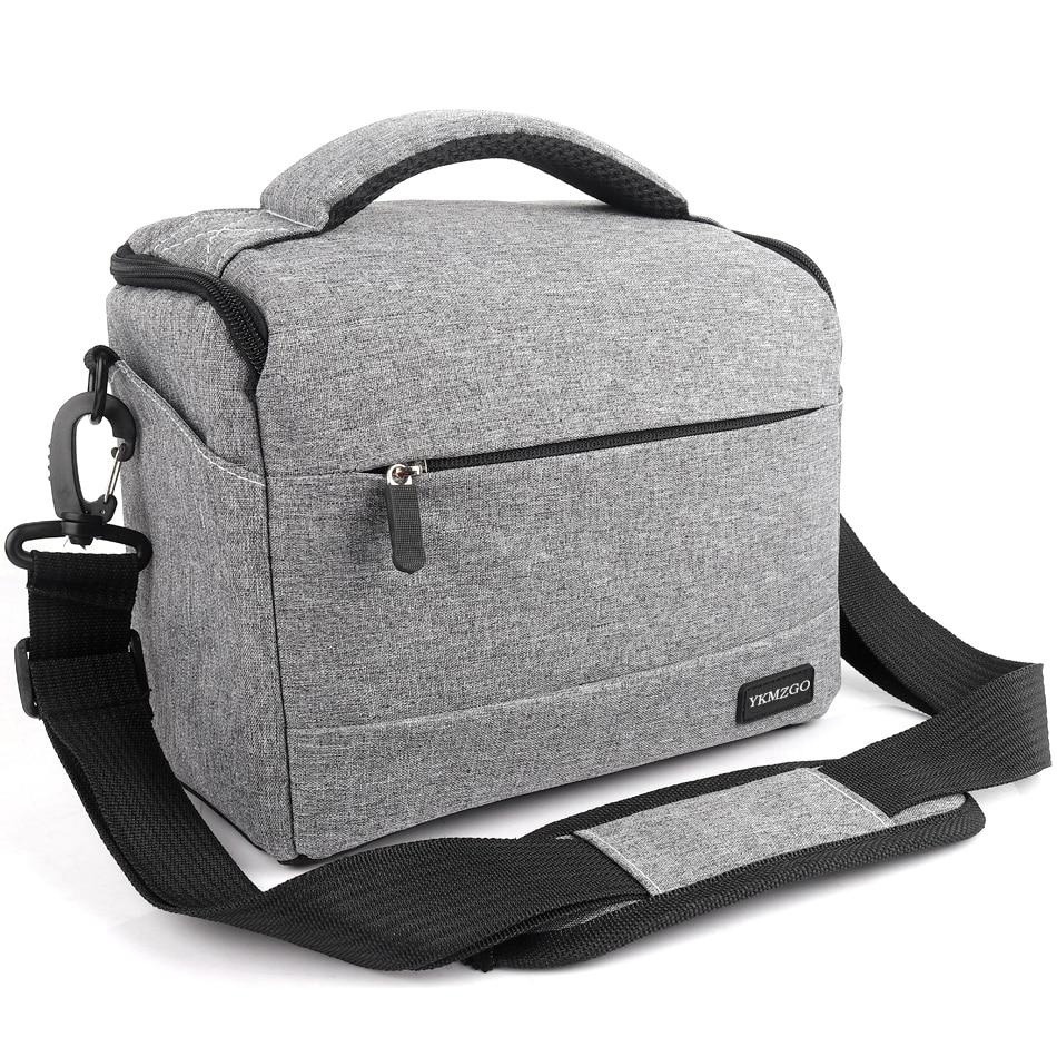 DSLR Camera Bag Fashion Polyester Shoulder Bag Camera Case For Canon Nikon Sony Lens Pouch Bag Water