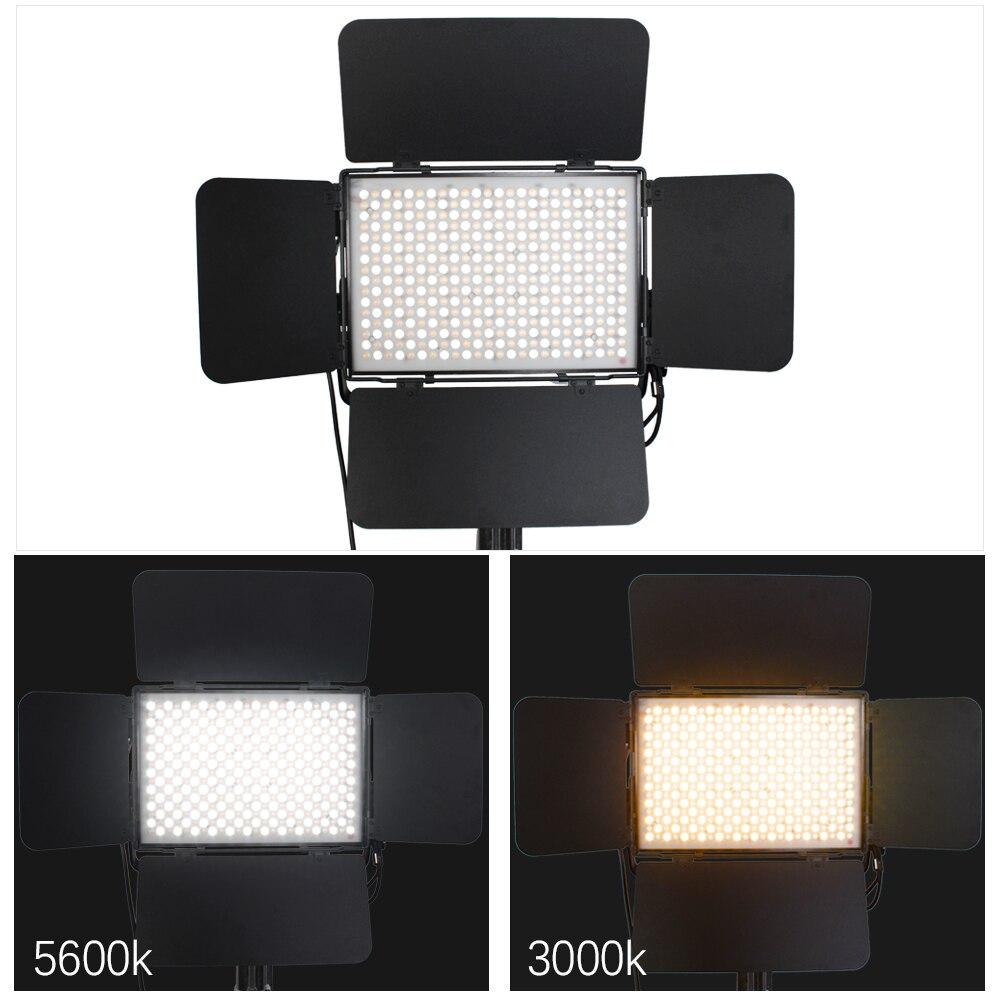 Panel de estudio de luz LED respetuoso con el medio ambiente y alta luminosidad para la fotografía de televisión profesional potencia hasta 30% Luxpando P120DT