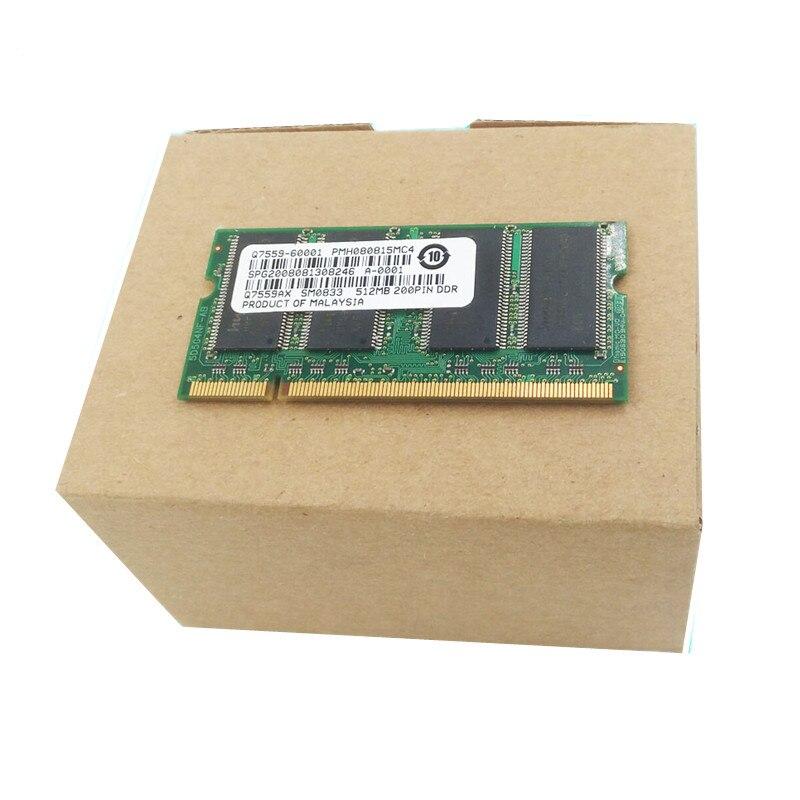 GiMerLotPy جديد الذاكرة RAM DIMM ذاكرة فلاش وحدة للون LJ CP6015 6014 6030 6040 512mb Q7559-60001