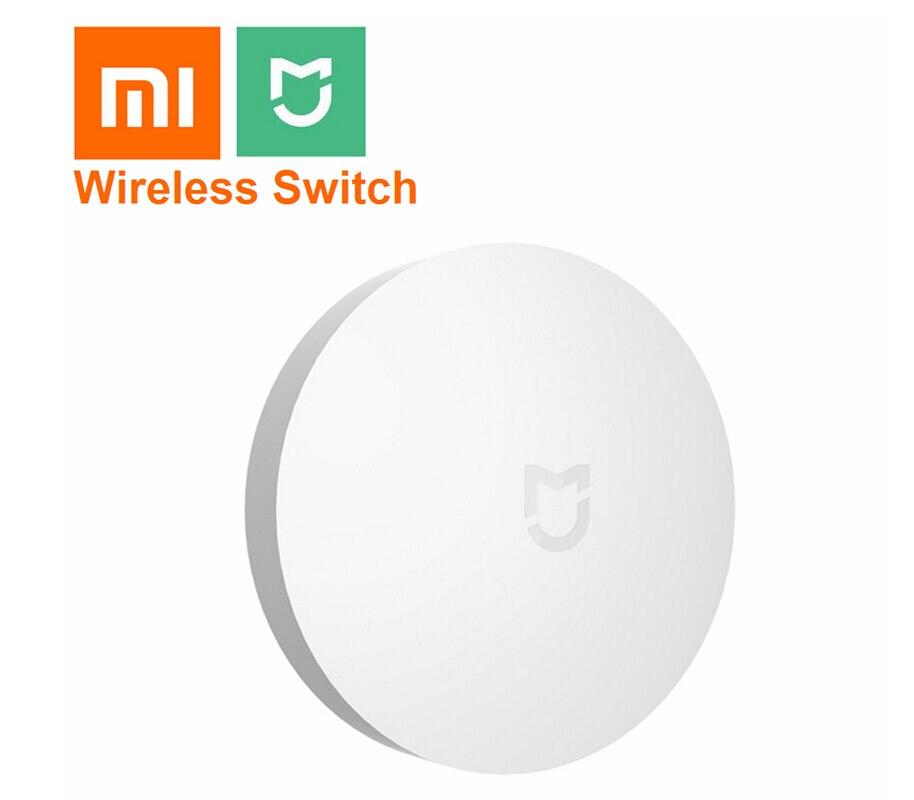 2018 Xiaomi mi jia interruptor inalámbrico centro de Control doméstico inteligente multifunción Dispositivo de hogar inteligente funciona con mi aplicación para hogares