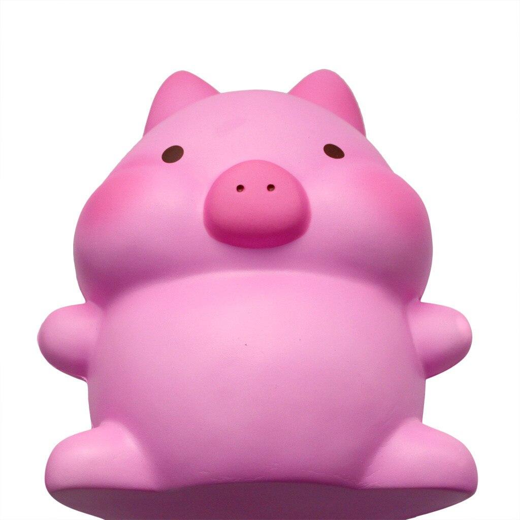 Adorable Kawaii Jumbo cerdo lento aumento crema perfumado alivio del estrés juguete 7,18