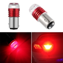 2PC Auto Tail Stop Lamp Red 1157 BAY15D P21/5W Strobe Flash Light Brake Blink Led Tail Car Reverse Bulb accessory