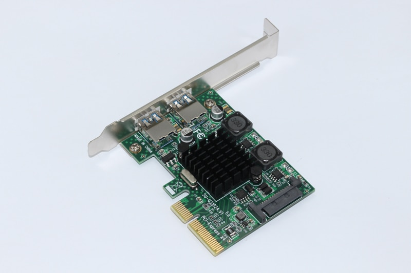NUEVA tarjeta USB 3,1 PCI Express de 2 puertos USB 3,1 10Gbps SuperSpeed USB 3,1 PCI-E adaptador de tarjeta de expansión para componentes de computadora de escritorio