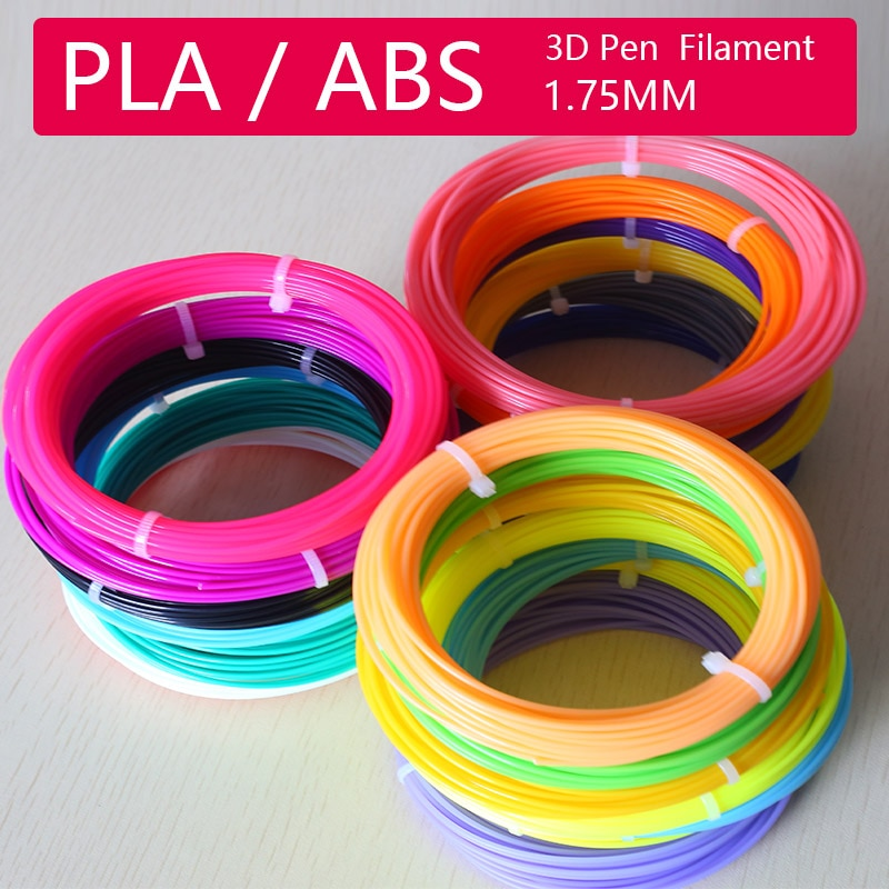 1.75mm 3D Pen PLA / ABS Filament,Scented Environmental Safe 3D Print PenPlastic The Best KIDS Birthday Gift