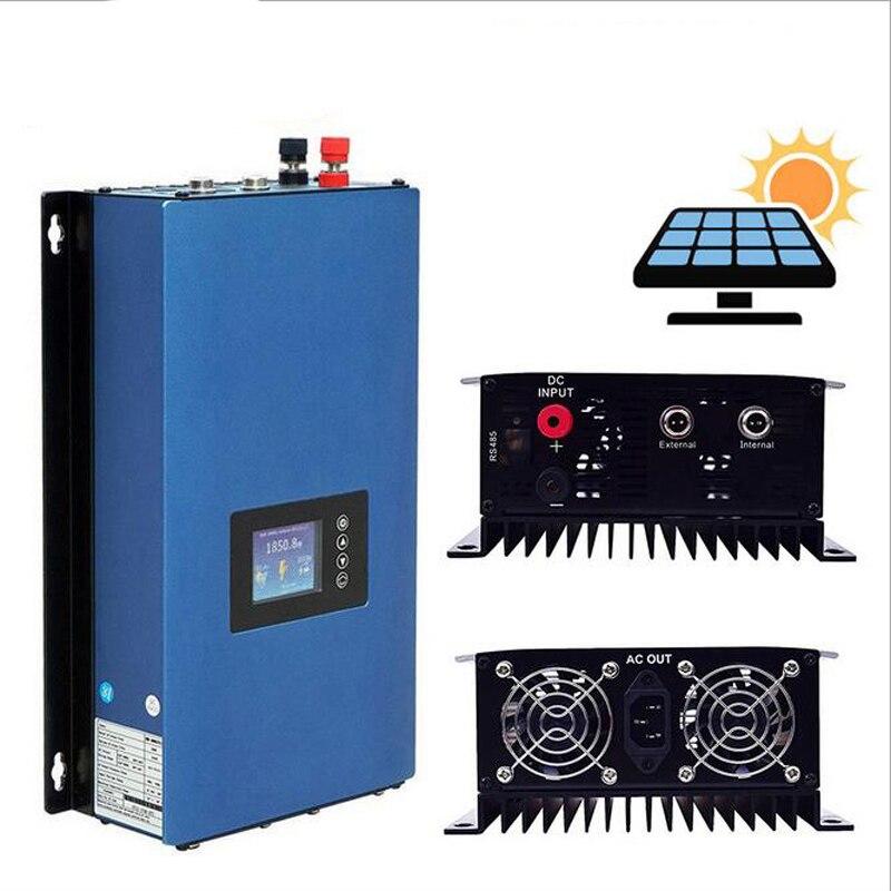 1000W الشمسية النقي موجة جيبية MPPT على الشبكة التعادل العاكس DC22-65V/45-90V المدخلات إلى AC110V/230V الناتج عالية الكفاءة تحويل