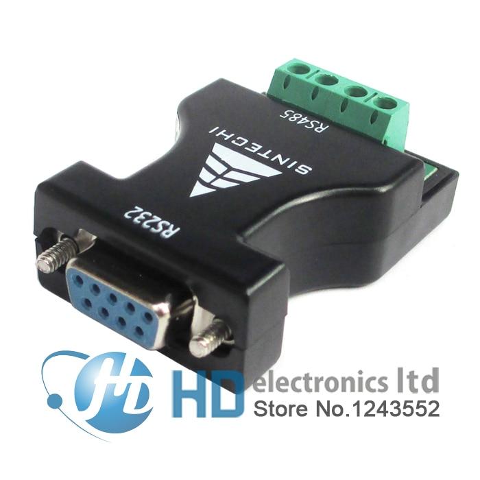 Переходник RS232 в RS485, адаптер 232 поворота 485, адаптер связи, конвертер