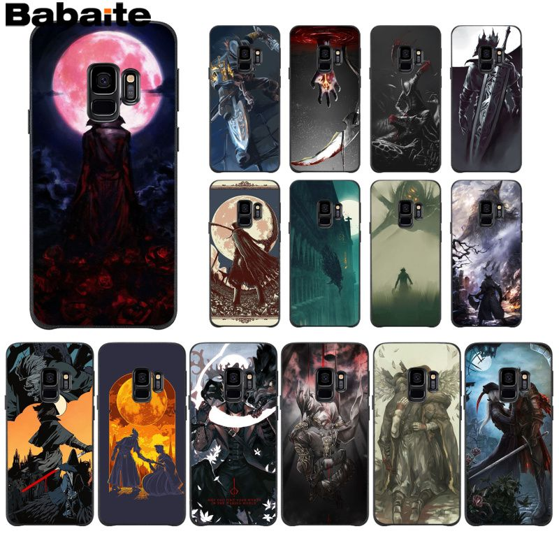 Babaite bloodborne Special Offer Luxury Phone Case Cover For GALAXY s5 s6  edge plus s7 edge s8 plus