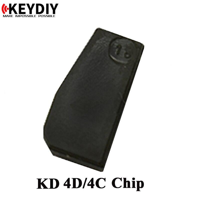 Free shipping 4C 4D copy chip for KEY DIY machine KD-X2  KD 4D transponder chip for car key chip cloner