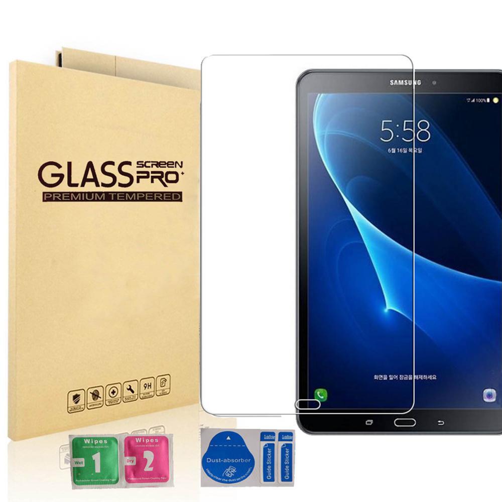 [Paquete de 2] vidrio templado 9H para iPad 10,2 pulgadas 2019 2.5D Protector de pantalla completa para iPad Pro 11 Air 2 3 MiNi 5 2020 cristal