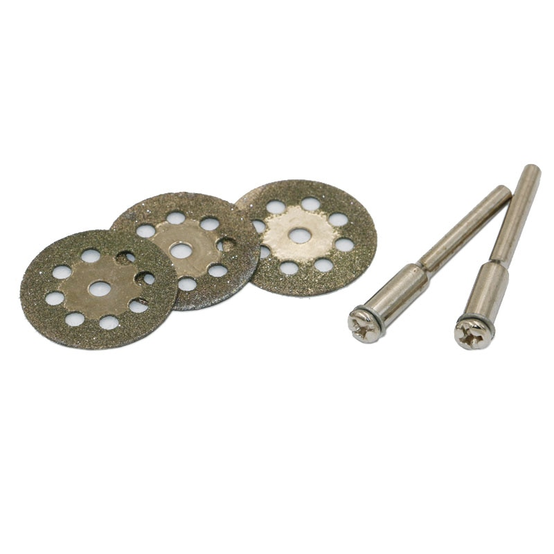 10 piezas 22 mm mini afilado diamante cortado herramienta rotativa - Herramientas abrasivas - foto 2