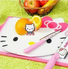 "12.4"" Hello Kitty Fruit Chopping Block/ table mat/ Tea Coaster/ Home supplies dropship Wholesale Children Day Gift"
