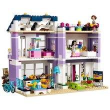 Compatible avec Legoings amis maison demma 41095 blocs de construction Emma Mia Figure jouets éducatifs pour enfants fille