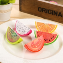 Cute Kawaii Creative Fruit Plastic Pencil Sharpener For Kids Student Novelty Item School Supplies Student 486