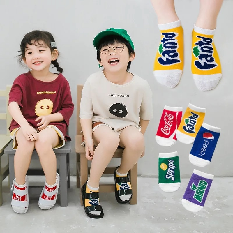 Calcetines de media Para niño de 0 a 12 años, calcetines de primavera y verano Para bebés recién nacidos, calcetín abrigado de invierno Para bebés, 5 pares