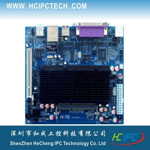 HCIPC 2046-8 ITX-HCM52X61D Atom D525 integrado Mini ITX placa ITX