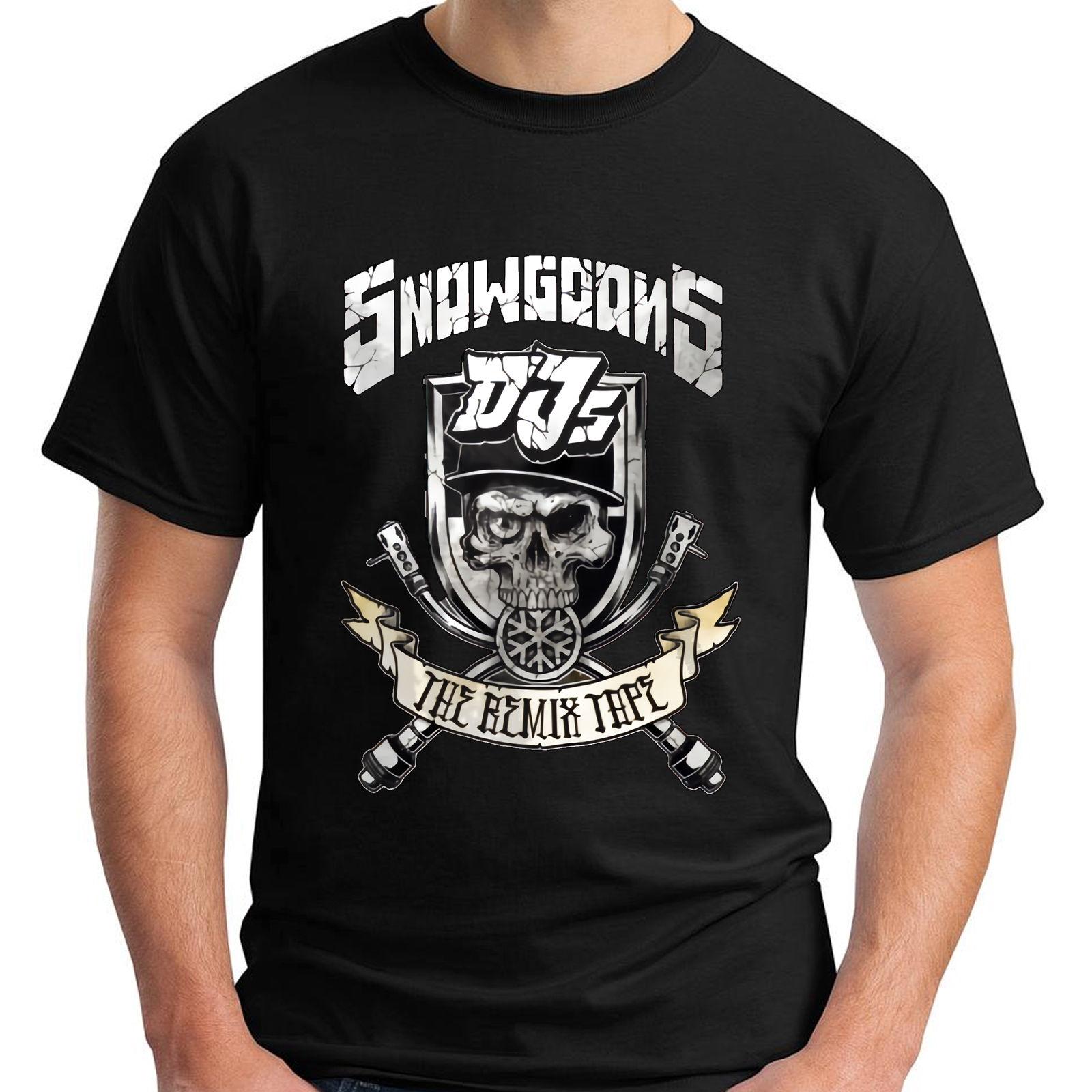 2019 moda gran oferta SNOWGOONS DJ hip hop the Lost Cauze OuterSpace camiseta negra para hombre talla S-5XL camiseta