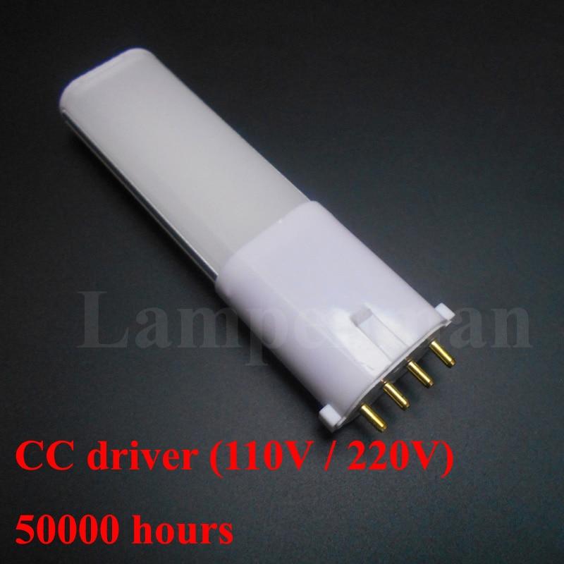2g7 tubos de luz LED 4W 6W 8W 10W tubo SMD 2835 2g7 lámpara led Taiwán Epistar 2g7 bombilla de luz LED tubo PL lámpara ce rohs