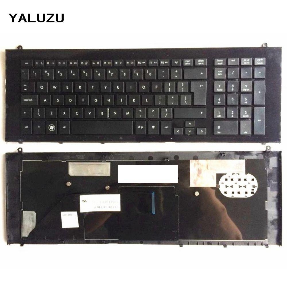 YALUZU UI Black New English Replace laptop keyboard FOR HP For ProBook 4720 4720S